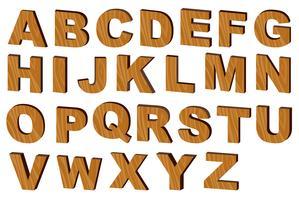 Alphabet vektor