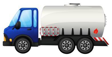 En bränslebil vektor