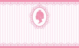 Vintage rosa bakgrundsdesign vektor