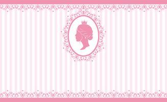 Vintage rosa Hintergrunddesign