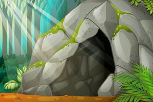 Eine Höhle vektor