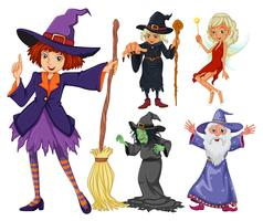 Märchen mit Hexe und Zauberer