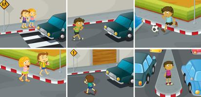 Straßenregeln vektor