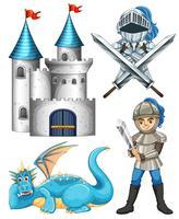 Ritter und Drache