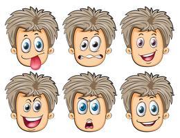 Gesichter vektor