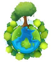 Mutter Erde vektor