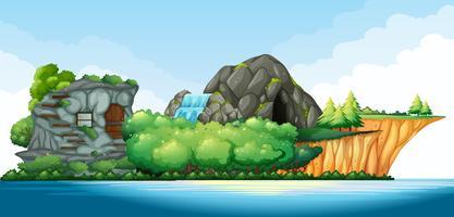 Insel mitten im Ozean