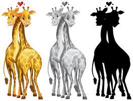 Satz des Giraffenzeichens vektor