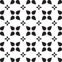 Universal svart och vitt sömlös mönsterplattor