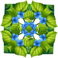 Flora-Muster vektor