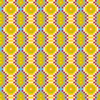 Färgglada etniska prydnadsmönster Mexikanskt, sömlöst mönster vektor