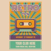 Retro Poster vektor