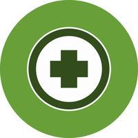 Vektor-Hospiatal-Verkehrsschild-Ikone