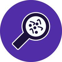 vektor bakterie ikon