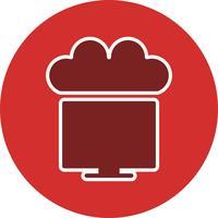Vektor verbunden mit Cloud-Symbol