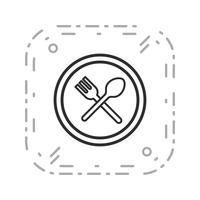 Vektor Resutrent Verkehrsschild Symbol