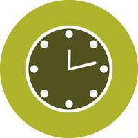 Vektor-Uhr-Symbol vektor