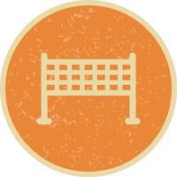 Netto-Symbol-Vektor-Illustration