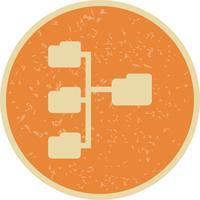 Vektor-Verzeichnis-Symbol