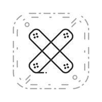vektorbandhjälpikon
