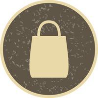 Einkaufstasche-Ikonen-Vektor-Illustration