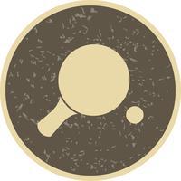 Ping-Pong-Ikonen-Vektor-Illustration
