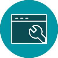 ikon för vektorwebbläsare