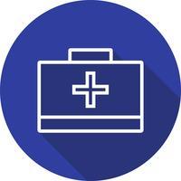 Vektor-Erste-Hilfe-Box-Symbol