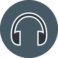 Kopfhörer-Ikonen-Vektor-Illustration