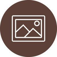 Bild-Ikonen-Vektor-Illustration