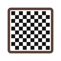 Schach-Ikonen-Vektor-Illustration vektor