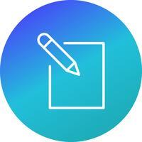 Bearbeiten Sie die Icon-Vektor-Illustration