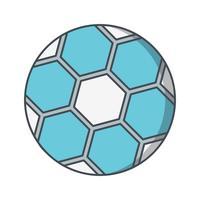Fußball-Ikonen-Vektor-Illustration vektor