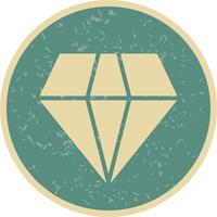 Vektor-Diamant-Symbol