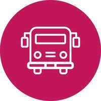 Vektor-Schulbus-Symbol