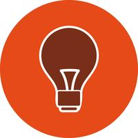 Vektor lampa ikon