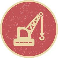 Vektor kran ikon
