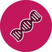 Vektor-DNA-Symbol vektor