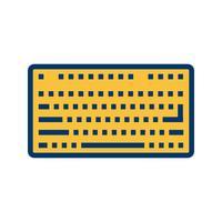 Vektor-Tastatur-Symbol vektor