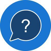 Vektor-Frage-Symbol