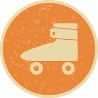 Rollschuh-Ikonen-Vektor-Illustration