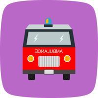 Vektor-Krankenwagen-Symbol