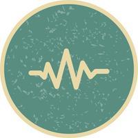 Tonschlag-Ikonen-Vektor-Illustration