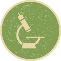 Vektor-Mikroskop-Symbol