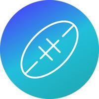 rugby ikon vektor illustration