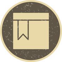 Symbol mit Vektor-Lesezeichen