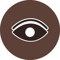 Vektor-Augensymbol