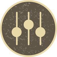 Einstellungssymbol Vektor-Illustration
