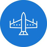 vektor kämpe jet ikon