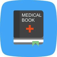 vektor medicinsk bokikonen